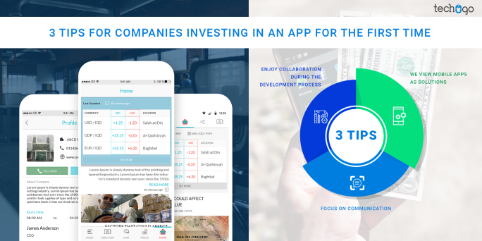3 TIPS FOR COMPANIES INVESTING IN AN APP FOR THE FIRST TIME